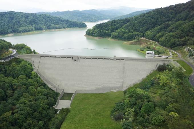 新桂沢ダムについて |札幌開発...