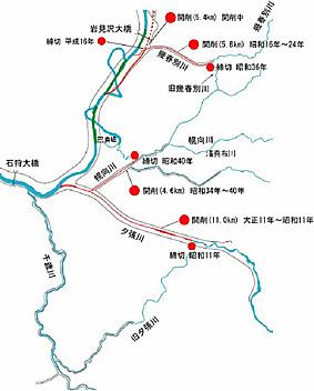 52 幌向川新水路【札幌開発建設部】治水100年 |札幌開発建設部